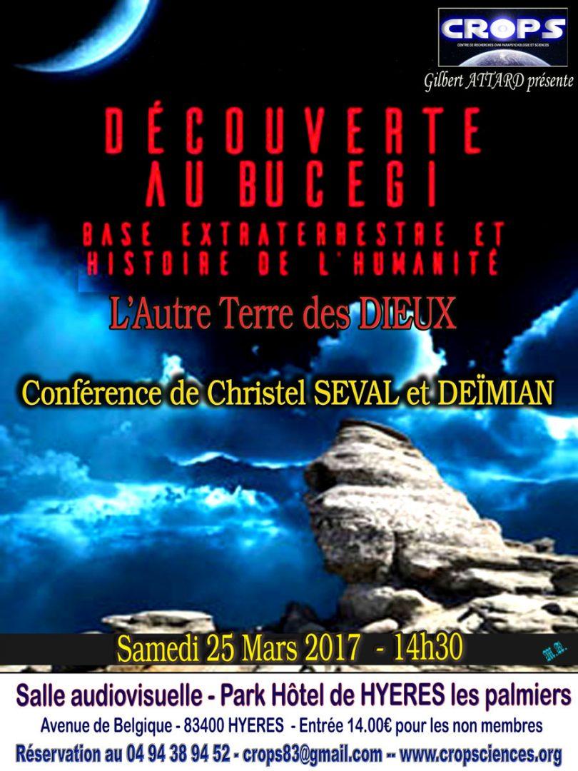 Découverte au Bucegi – L'autre Terre des Dieux (Christel Seval et Deïmian)