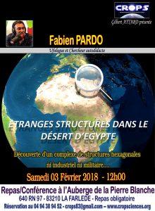 Etranges structures dans le désert égyptien (Fabien Pardo)