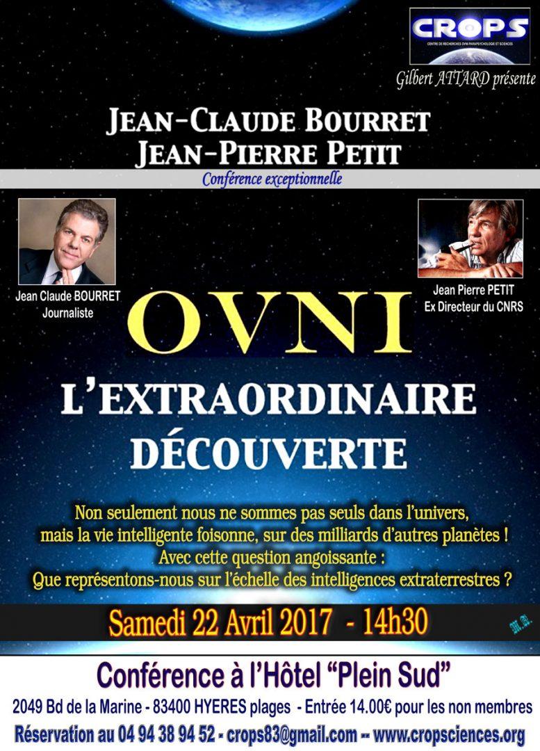 OVNI l'extraordinaire découverte (Jean Pierre Petit et Jean Claude Bourret)