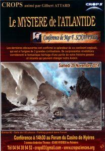 Le Mystère de l'Atlantide (Monseigneur Franck W. Schaffner)