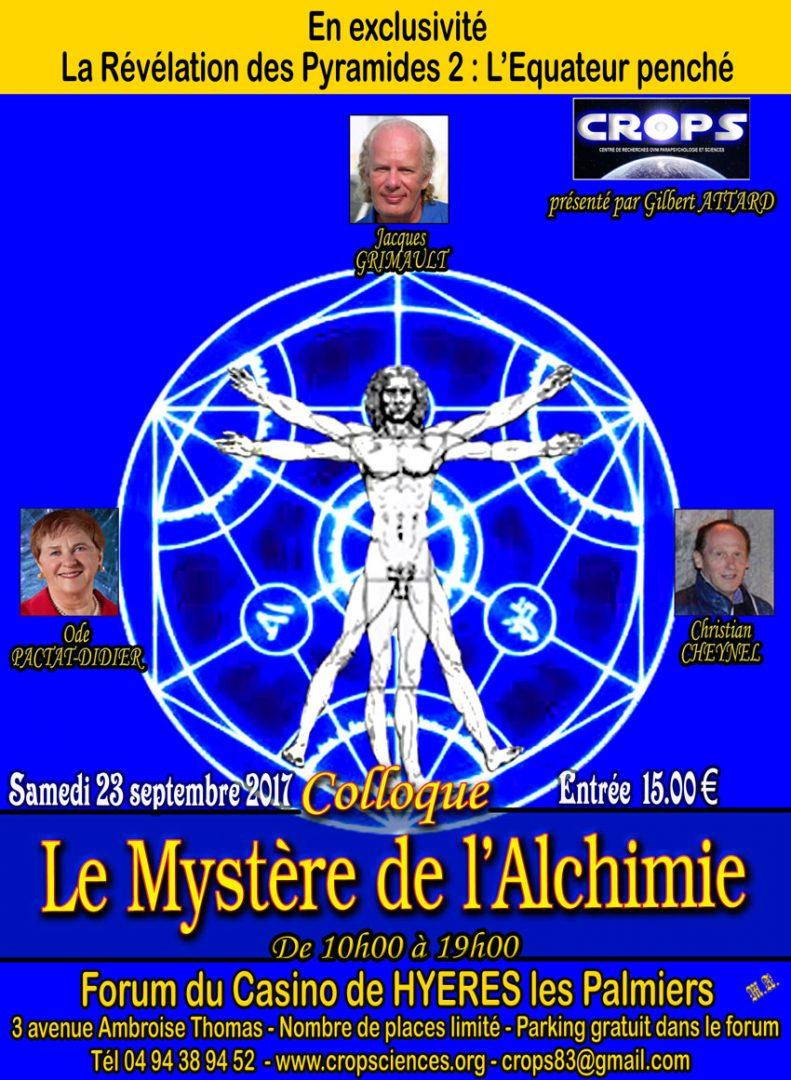 L'Alchimie et ses mystères ( Jacques Grimault, Ode Pactat-Didier et Christian Cheynel)