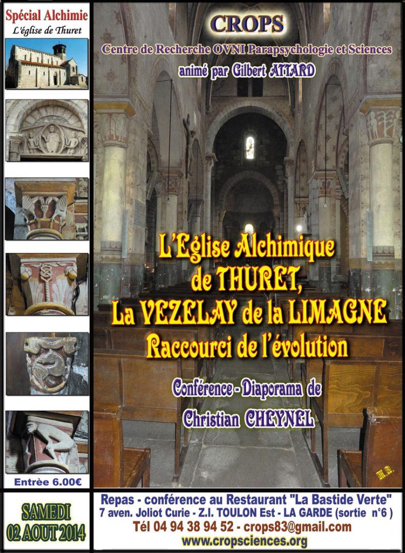L'Eglise alchimique de Thuret (Christian Cheynel)