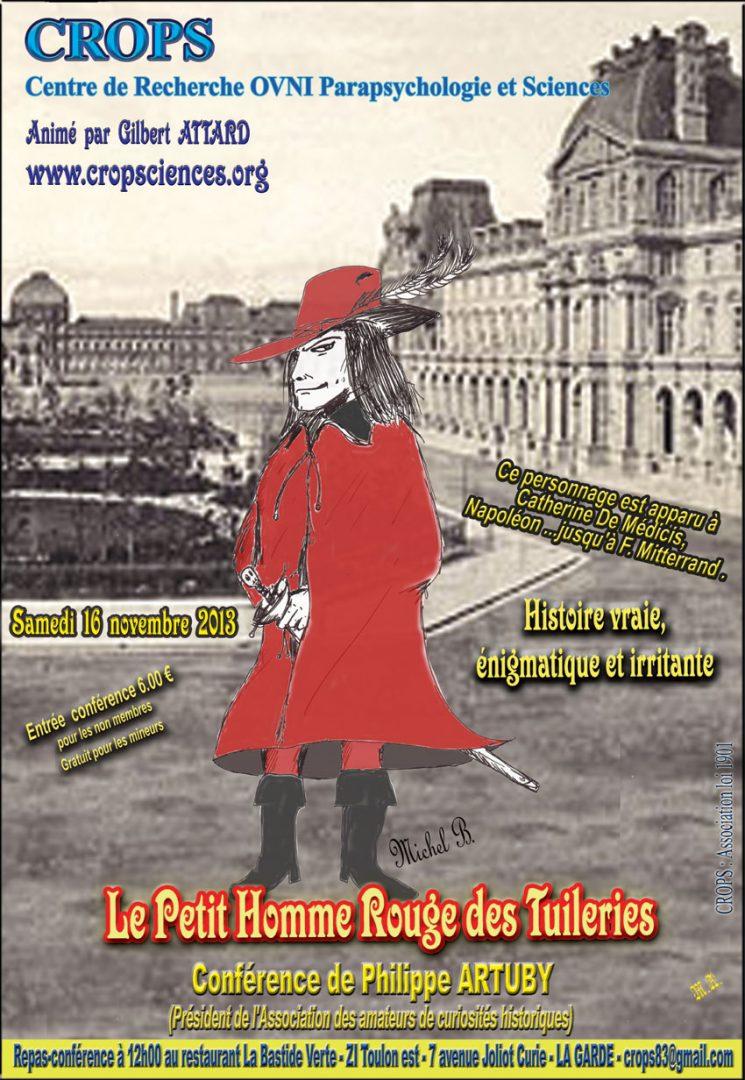 Le petit Homme rouge des Tuileries (Philippe Artuby)