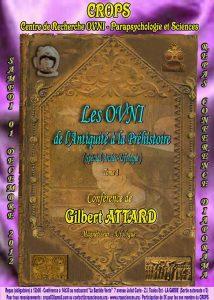 OVNI : De l'antiquité à la préhistoire (Gilbert Attard)
