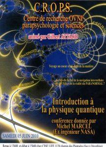 Physique quantique (Michel Marcel (Ex ingénieur NASA))