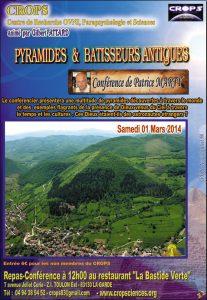 Pyramides & Bâtisseurs antiques (Patrice Marty)
