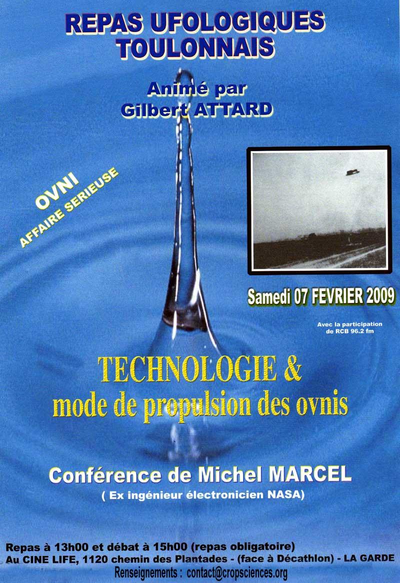 Technologie OVNI (Michel Marcel (ex ingénieur NASA))
