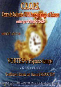 Vortex et espace-temps (Bernard Redoutey)