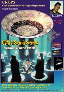 OVNI et Sociétés Secrètes (Fabrice Bonvin)
