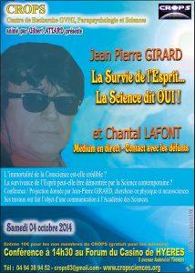 La survie de l'Esprit…Pourquoi la Science dit OUI ! (Jean Pierre Girard)