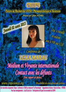 Voyance et contact avec les défunts (Lexa Marau)
