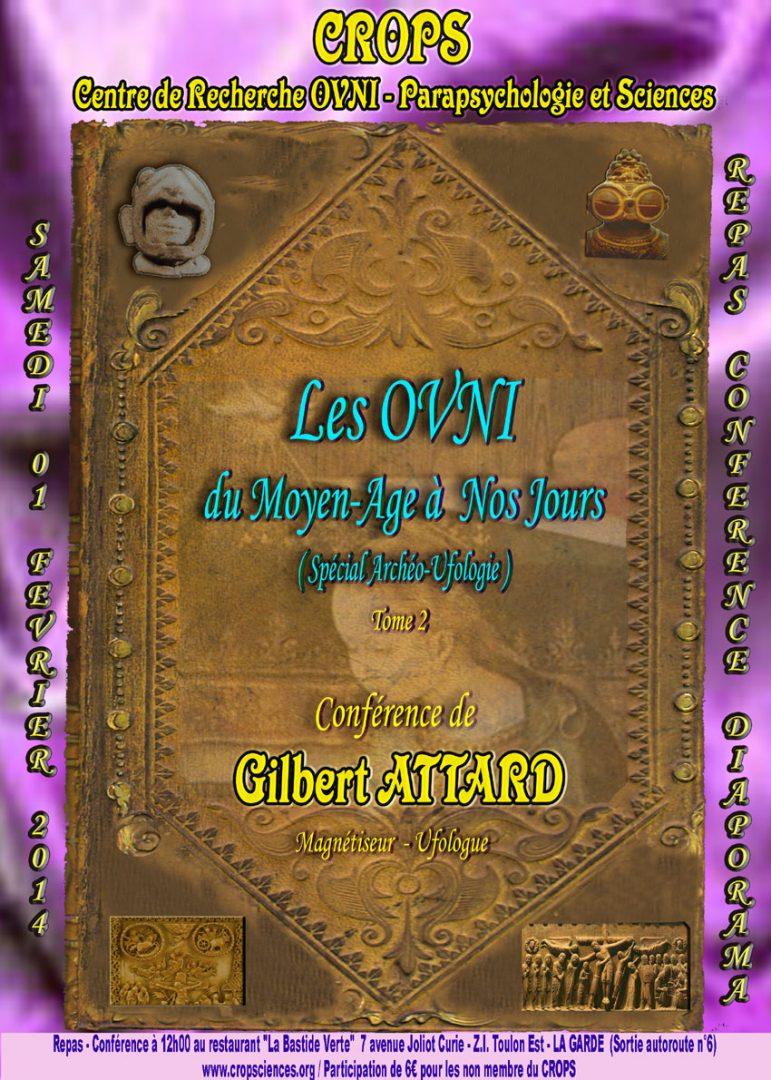 Les OVNI du Moyen-Age à nos jours ( Gilbert Attard)
