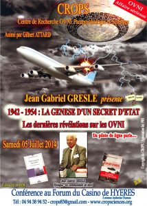 1942-1954 : La genèse d'un secret d'Etat (Jean Gabriel Greslé)