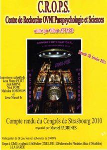 Compte-rendu du Congrès de Strasbourg (Michel Padrines)