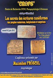Les écritures cunéiformes (Maximilien Pröschl)