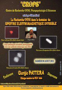 Ovni et spectre électromagnétique (Giorgio Pattera)