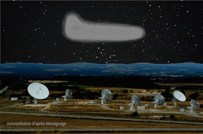 Souvenir d'une veillée OVNI sur le Plateau d'Albion Du 02 au 03 juillet 1994