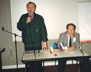 Boris Chourinov et Giorgio Pattera