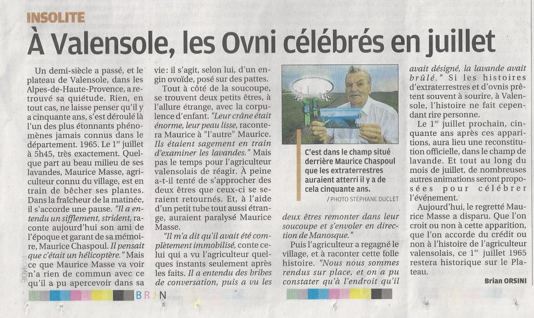 La_Provence_-_15_juin_2015_-_Article_OVNI_Valensole-_Maurice_Chaspoul_-page_IV-