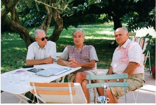 Jean Pierre Petit à son domicile