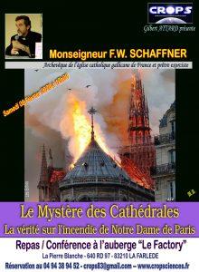 Le Mystère des Cathédrales et la Vérité sur l'incendie de Notre Dame de Paris